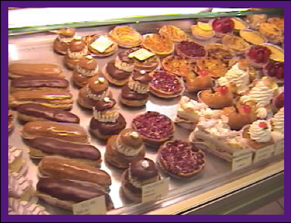 Patisserie Display